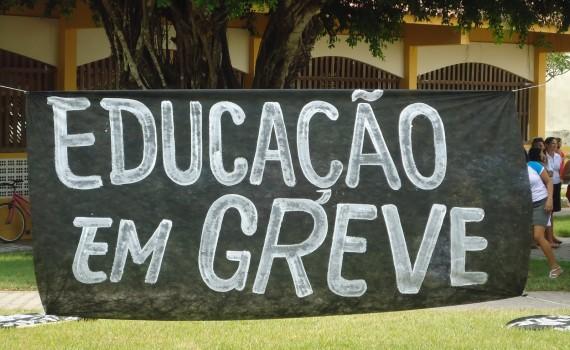 professores em greve