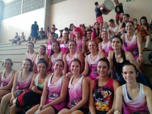 Basquete feminino campeãs do CUPA