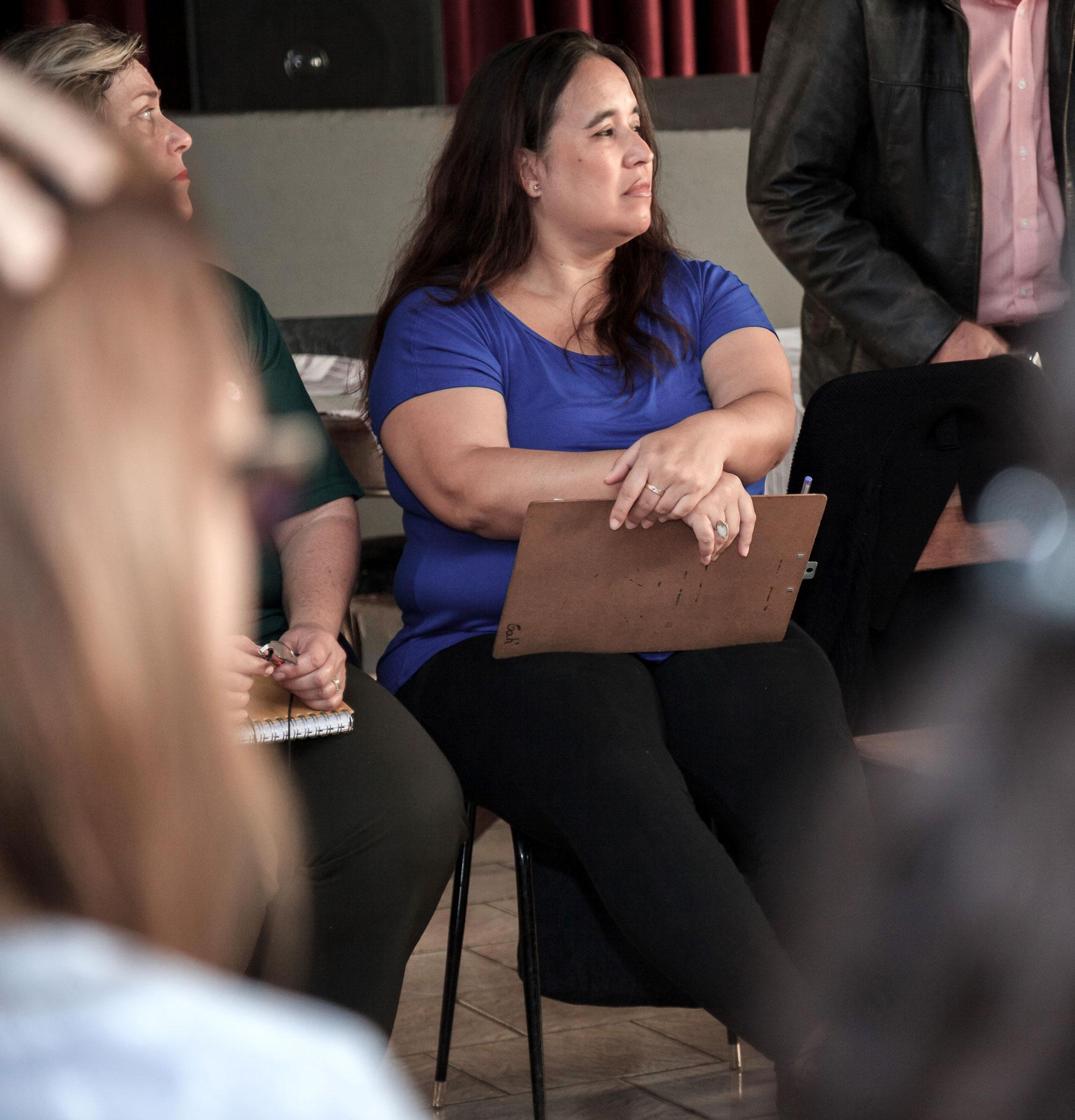 """Victoria Alejandra Hiriart criadora e coordenadora do Grupo """"Informando e Salvando Vidas – Epidemias"""" e do Grupo """"Ongs e Entidades Civis de Rio Claro""""."""