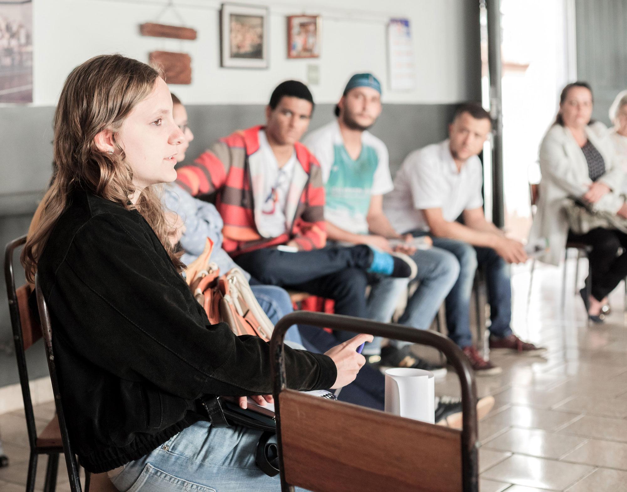 Thamires Meira Rodrigues (GACC - Grupo de Apoio às Crianças com Câncer).