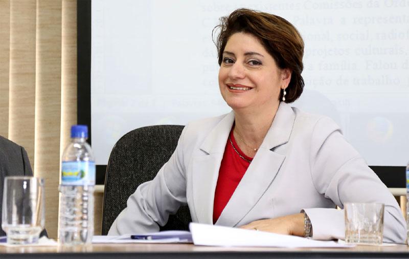 Dra. Rosa Luzia Catuzo, Conselheira Regional da OAB e ex Presidente da OAB/Rio Claro.