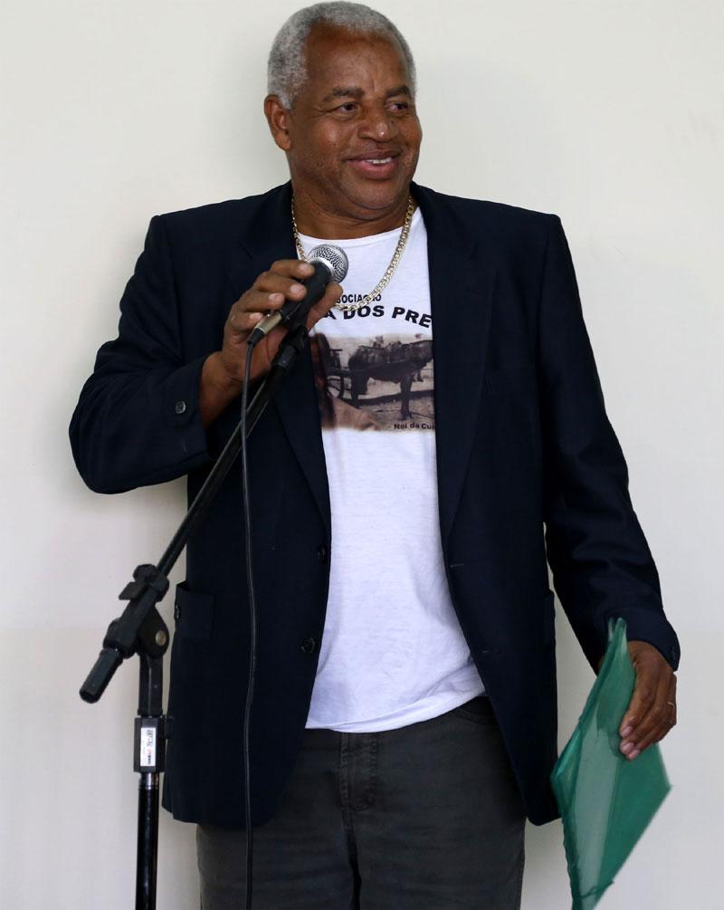 Claudio Roberto Pereira da Associação Chácara dos Pretos.