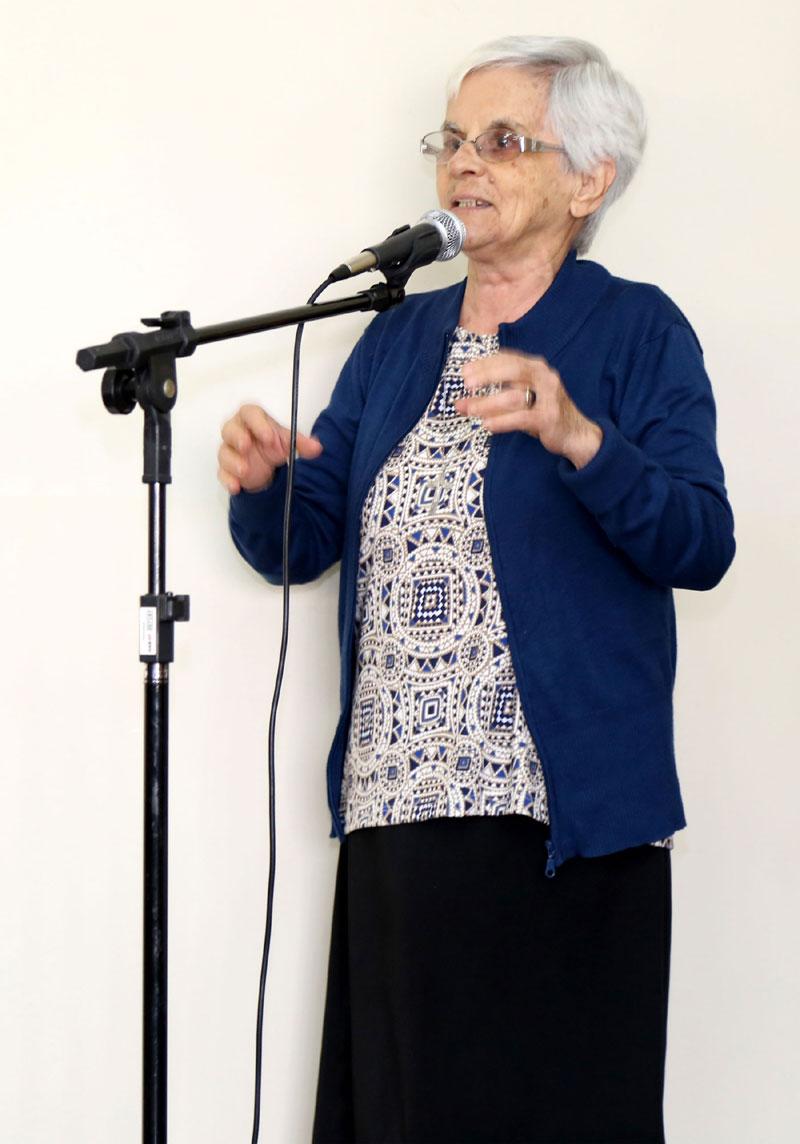 Irmã Judithe Maria Rodrigues da Casa de Nossa Senhora.