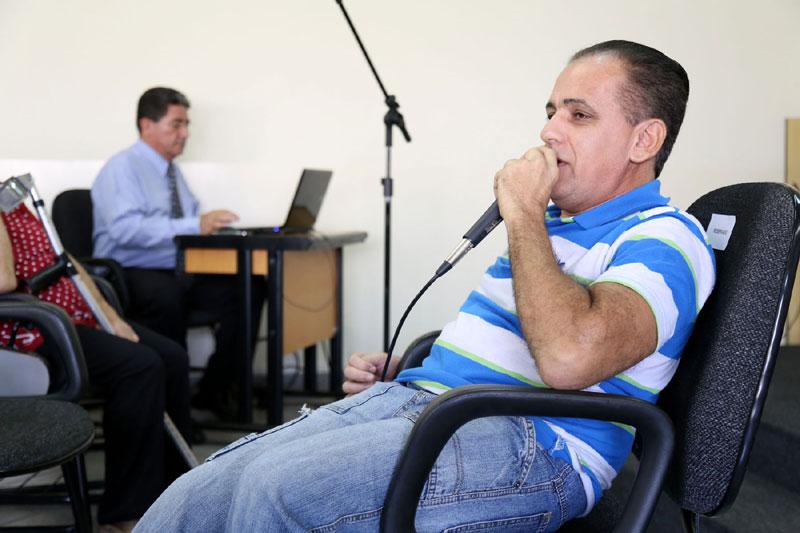 Marco Elias da APODERC – Associação dos Portadores de Deficiência de Rio Claro.