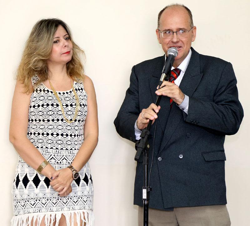Dr.João Greve Neto e Dra. Débora Regina Freschi da Fundação Museu Ferroviário Getúlio Greve.