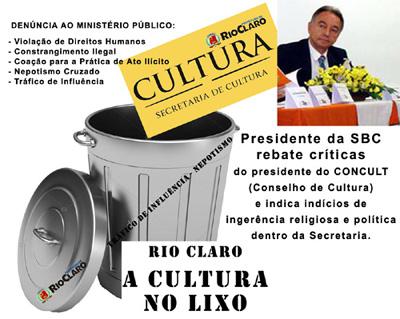 a cultura no lixo