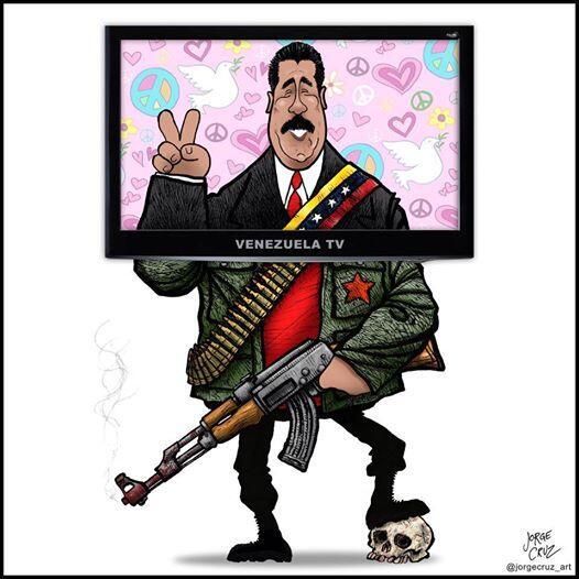 Caricatura-de-Maduro-y-lo-que-representa